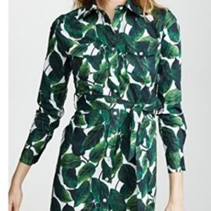 Milly banana leaf dress